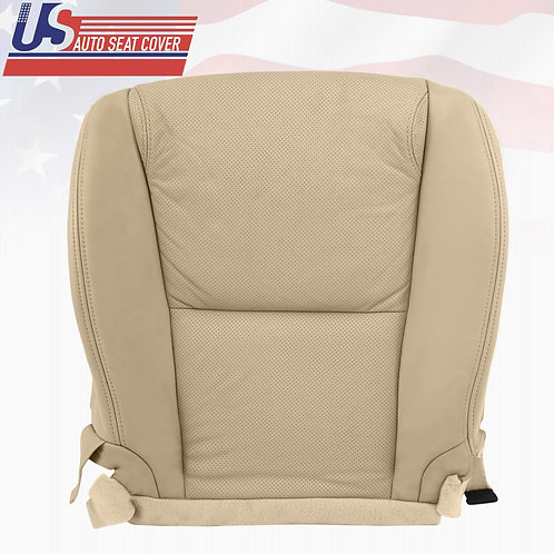 2006-2011 Lexus GS350,350AWD,460,450H Bottom Perforated Leather Seat Cover Tan