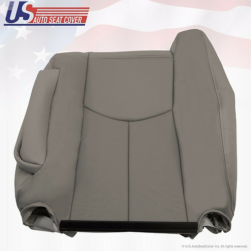 2003 2004 2005 2006 Cadillac Escalade Passenger Top Perforated Seat Cover Gray