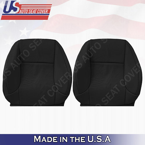 For 2010-2017 Lexus GX460 Driver/Passenger Top Perforated Leather Cover Black