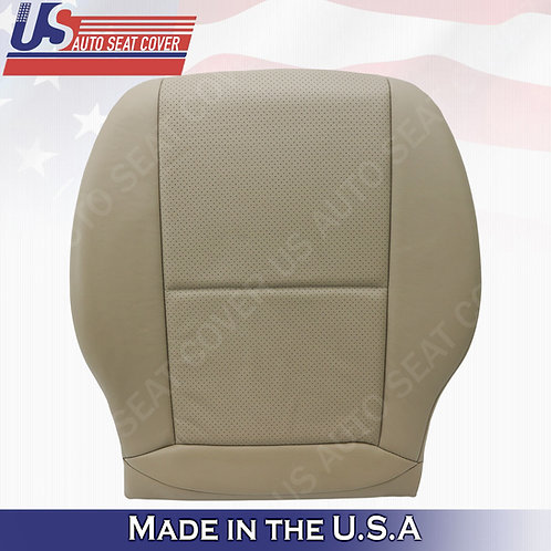 For 2008-2014 Mercedes Benz GLK300 SPORT Driver Bottom Perf. Leather COVER TAN