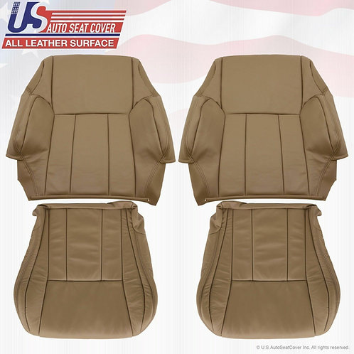 1996 To 2002 Toyota 4runner Driver & Passenger Seat Covers OAK Tan
