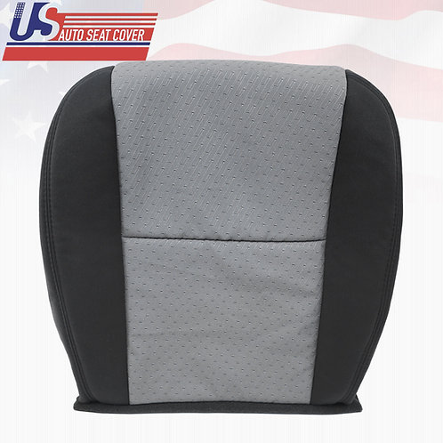 2007-2014 Chevy Silverado Passenger Bottom Cloth Seat Cover Ebony & Titanium