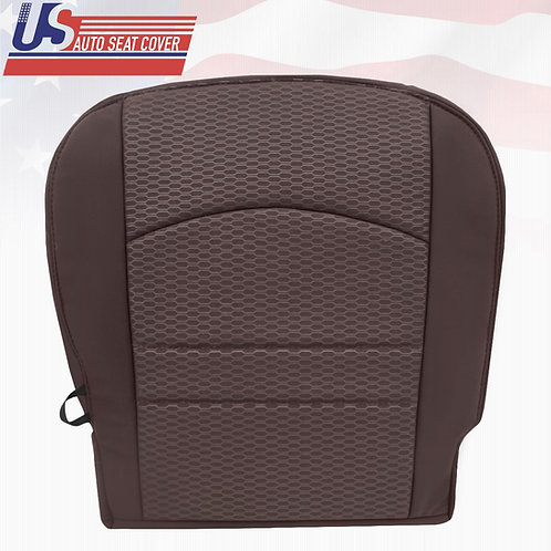 2013-2018 Dodge Ram 1500 2500 ST Passenger Bottom Cloth Seat Cover Canyon Brown