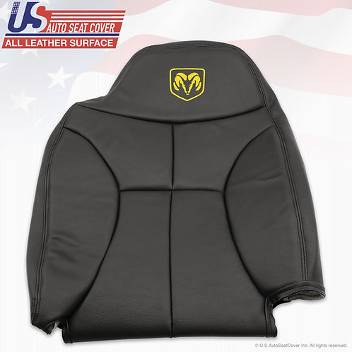 1998-2000 Dodge Ram 5800 Driver Top synth. Leather seat cover  Black