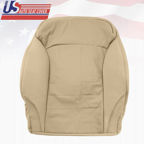 2006-2013 LEXUS IS250 DRIVER TOP PERFORATED LEATHER SEAT COVER TAN