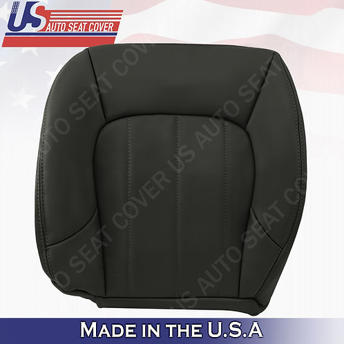 2002-2009 GMC Envoy SLT Driver Bottom Leather Seat Cover Dark Gray