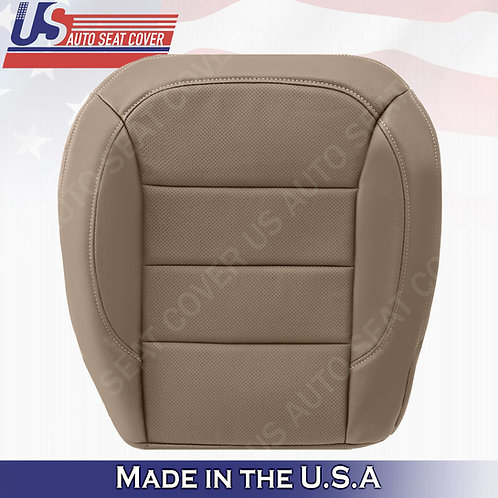 For 2012to 2015 Mercedes Benz M-Class Driver Bottom Perforated Leather Cover Tan