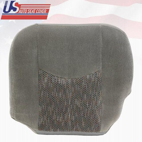 2003-2006 Chevy Silverado 1500 LS HD Driver Bottom Cloth Seat Cover Gray