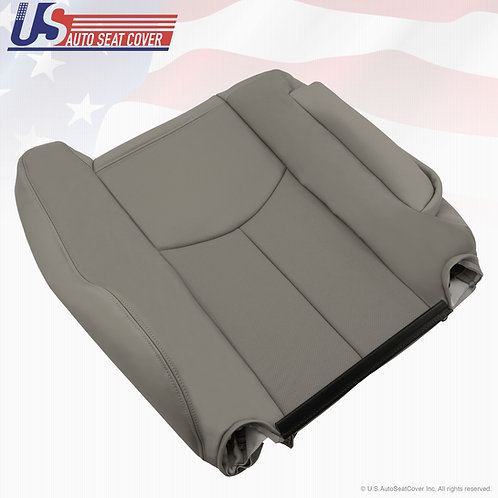 2003 2004 2005 2006 Cadillac Escalade Driver Backrest Perforated Seat Cover Gray
