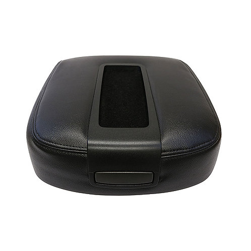 2007 to 2014 Chevy Center Console skin replacement cover Ebony Black