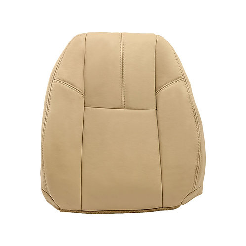 2007 - 2014 Chevy GMC Driver TopLean Back Leather seat cover Tan