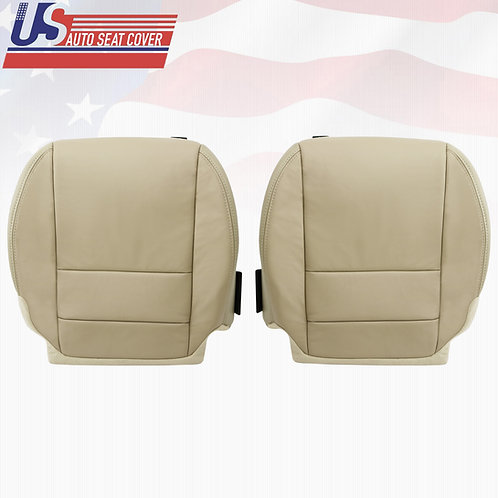 2007 to 2012 Acura MDX Front Driver Passenger Bottom Replacement Leather Covers