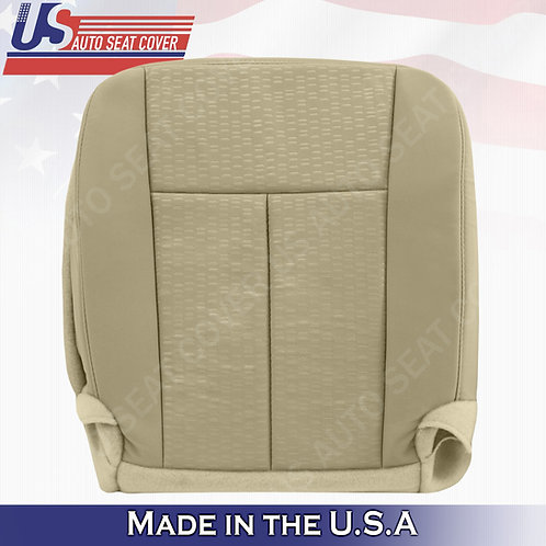2015- 2017 Ford Expedition Passenger Bottom Cloth Seat Cover TAN