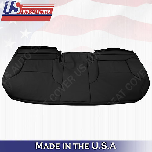 For 2003-2006 Lexus ES330 Rear Bottom Bench Perf. Leather Replacement cover Blck