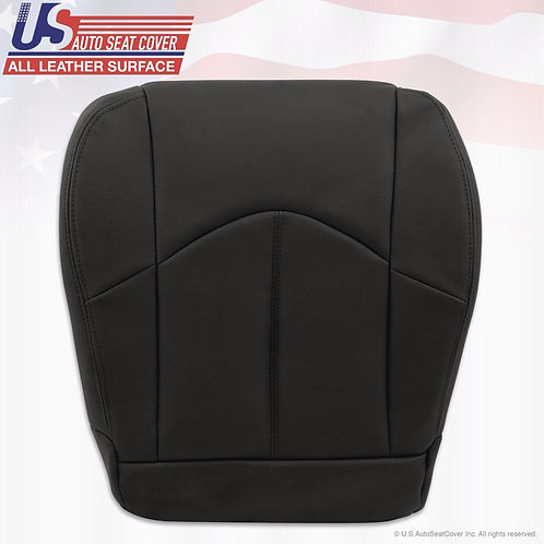 1999-2003 Lexus RX300 Driver Bottom Leather Seat Cover Black