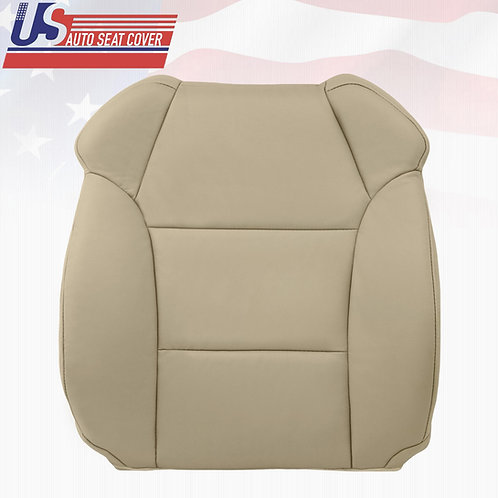 2007-2012 Acura MDX Driver top Leather Replacement Seat Cover in Tan