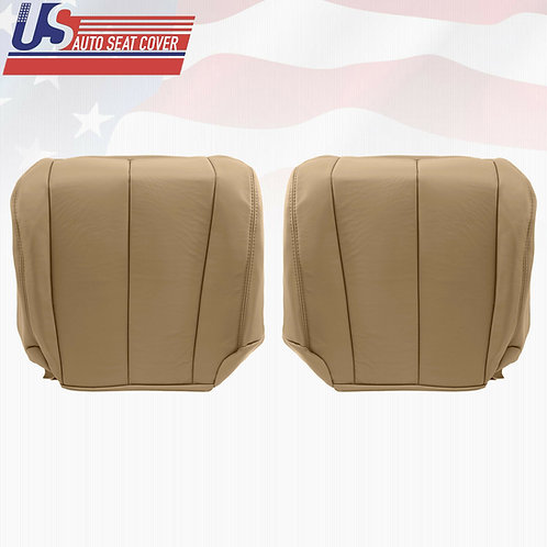 2006 Driver-Passenger Bottom Leather Seat Cover Tan Fits Nissan Murano S Sport
