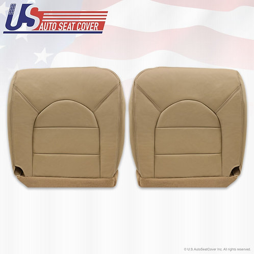 1999 2000 Ford F250 F350 Lariat Driver Passenger Bottom Leather Cover tan