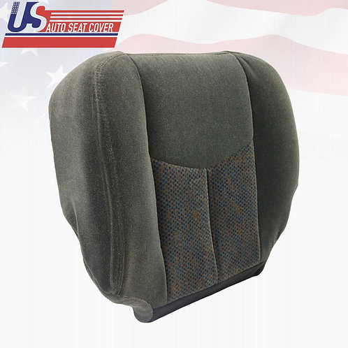 2003 2004 2005 2006 Chevy Silverado Passenger Bottom Cloth Seat Cover Dark Gray