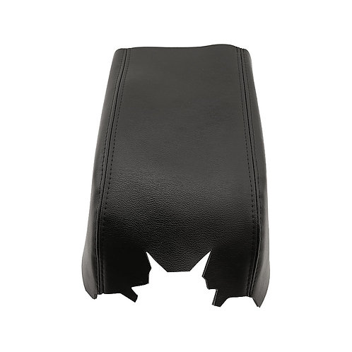 2007 2008 Ford F150 Lariat Armrest Console Lid Synthetic Leather Cover Black