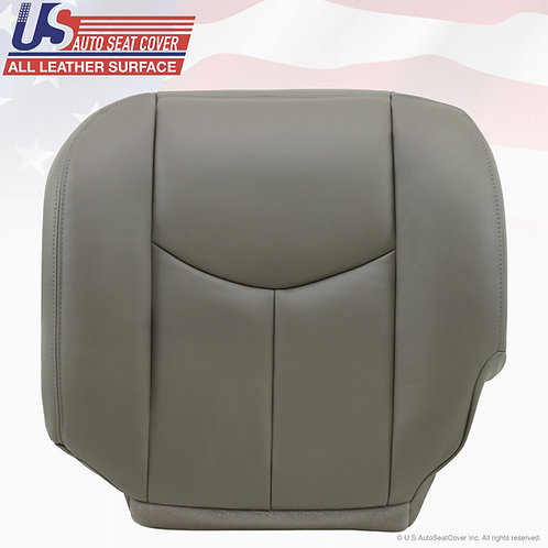2003-2006 Chevy Tahoe Suburban Driver Bottom REAR Leather Seat Cover