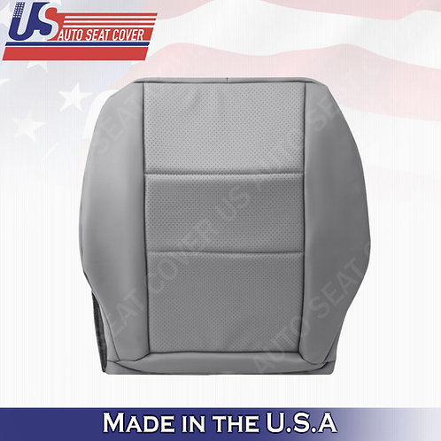 For 2008-2014 Mercedes Benz C250 C300  Driver Bottom Perf. Leather Cover Gray