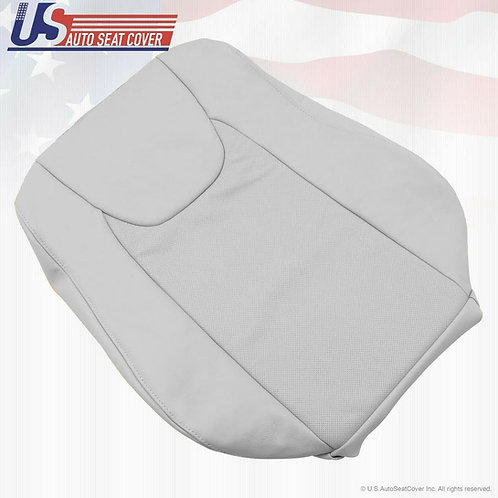 For 2010 2011 2012 Lexus RX350 Passenger Top Perforated Leather Seat Cover Gray