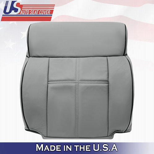 2006-2008 Lincoln Mark LT - Passenger Top Leather Replacement Cover GRAY