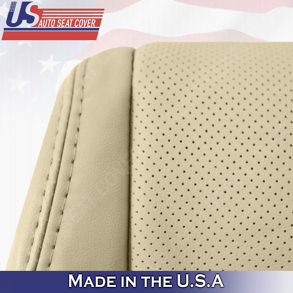 2007-2012 Acura RDX Driver Bottom Perforated Leather In