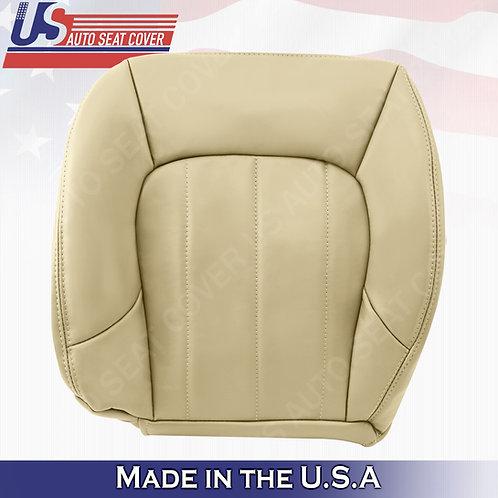 2002-2009 GMC Envoy SLT Driver Bottom Leather Seat Cover Oak Tan