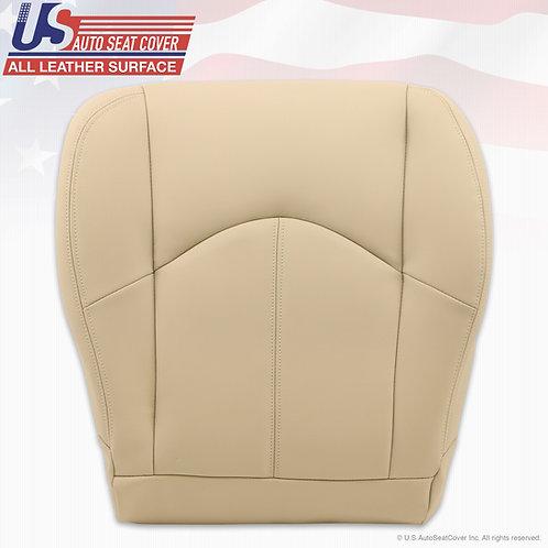 1999-2003 Lexus RX300 Passenger Bottom leather seat cover Ivory Tan