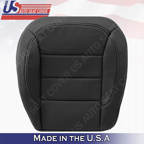 For 2012-2015 Mercedes Benz M-Class Driver Bottom Perforated Leather Cover Black