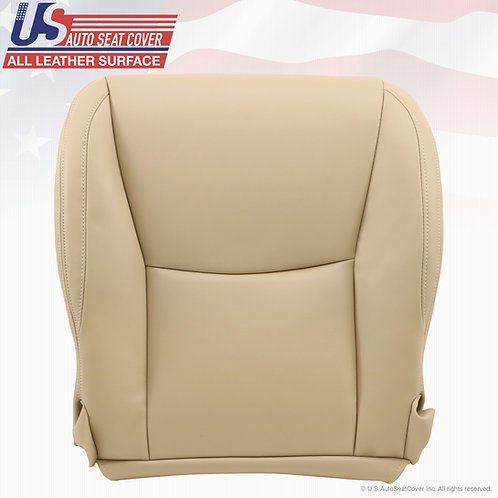 Driver Bottom Leather Seat Cover Ivory Tan 2003 to 2009 Lexus GX470