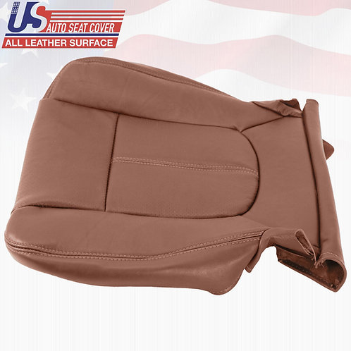 2011-2014 Ford F250 F350 King Ranch DRIVER Bottom Perforated Leather Seat Cover