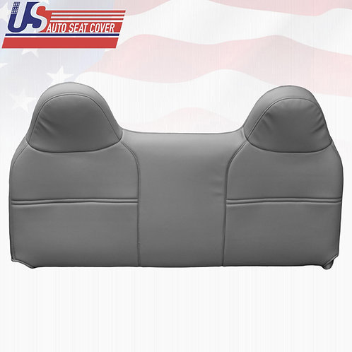 2003 2004 2005 Ford F250 XL Upper Bench Seat Replacement Vinyl Cover Gray