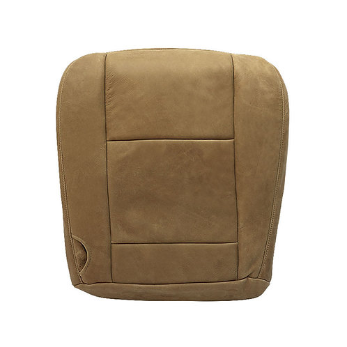 2002-2007 Ford F250 King Ranch Leather Driver bottom replacement seat cover Tan
