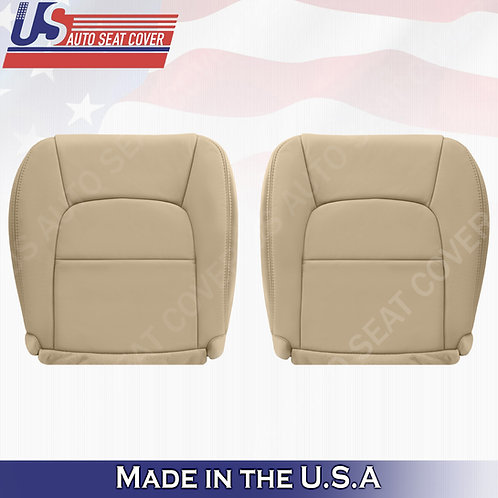 Driver Passenger Bottom Leather Seat Cover in Tan fits 1992-2001 Lexus SC300