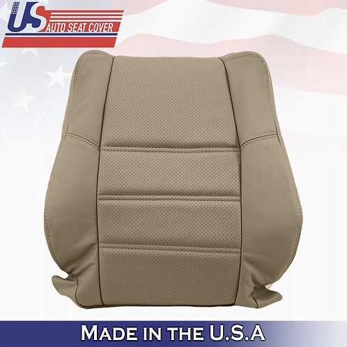 2001 2002 2003 2004 Nissan Pathfinder Front Driver Top Tan Leather Cover