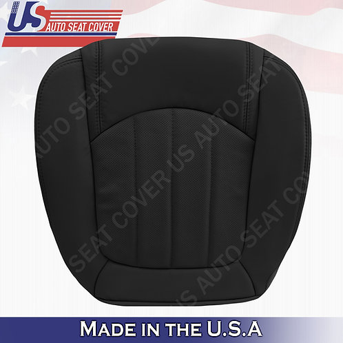 2008 -2012 Buick Enclave 1XL Passenger Bottom Perforated Leather Cover Black