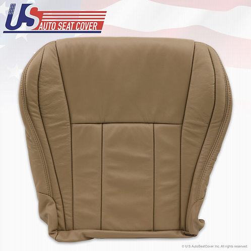 For 1996-2002 Toyota 4runner Leather Passenger Bottom Seat cover Tan