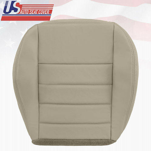 2006-2010 Dodge Charger- SE R/T SXT- Passenger Bottom Leather Seat Cover Gray