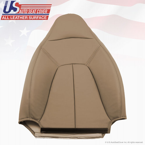 1997-2002 Expedition XLT Driver Lean Back Leather Seat Cover Tan