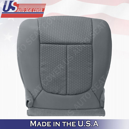 2011-2014 Ford F150 Driver Bottom Cloth seat Cover Steel Gray