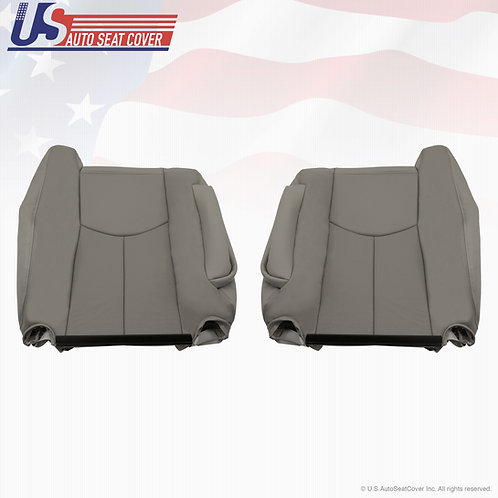 2003 2004 2005 2006 Cadillac Escalade Front Tops Perforated Seat Cover Gray