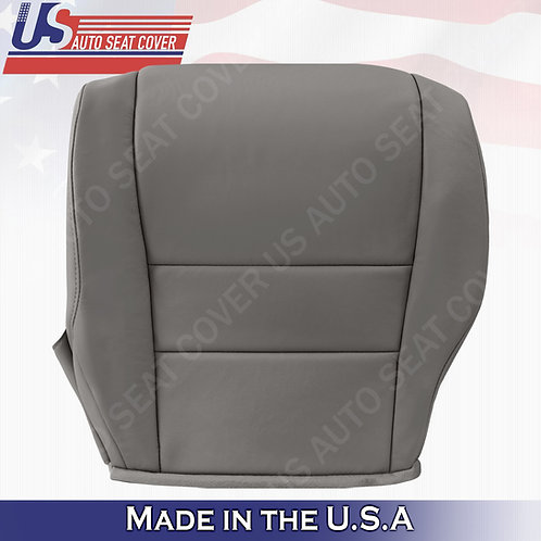 Driver Bottom Leather Seat Cover Gray For Honda CR-V 2007-2011