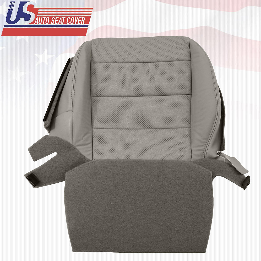2007-2008 ACURA TL S DRIVER BOTTOM PERFORATED LEATHER SEAT
