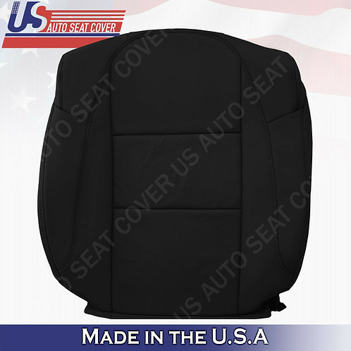 For 2013-2018 Acura RDX Passenger Top Perforated Leather Replacement Cover Black