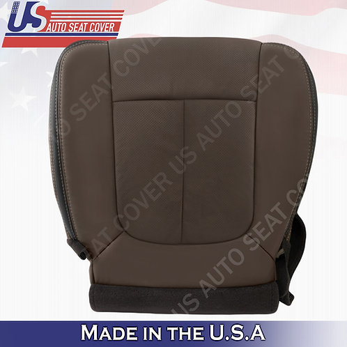 Passenger Bottom Brown Leather Cover 2013 2014 2015 2016 Ford F450 F550 Platinum