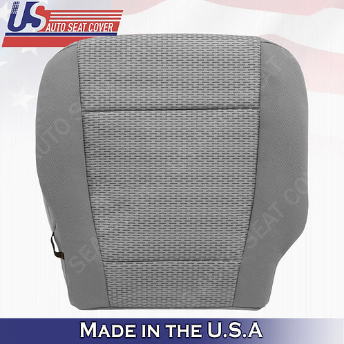 2015-2019 Ford F-150 XLT- Passenger Side Bottom Cloth Seat Cover Gray