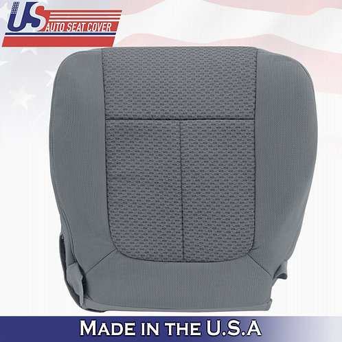 2009-2010 Ford F150 XTR FX4 PASSENGER Bottom Cloth Seat cover in Med Stone Gray